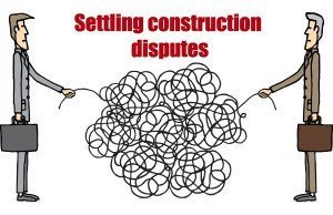 Settling Construction Disputes with blog