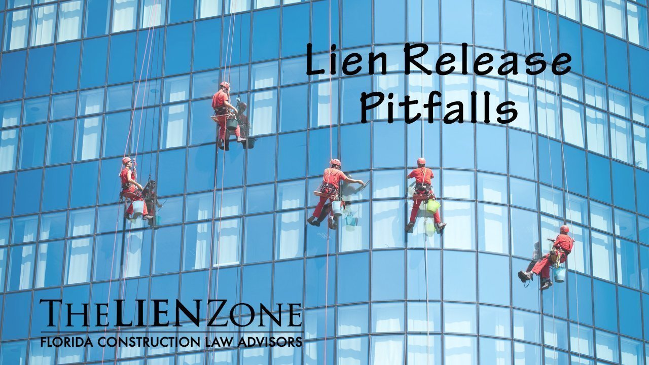 (post) Lien Release Pitfalls
