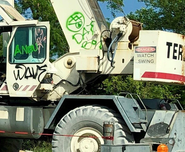(post) How To Reduce the Risk of Vandals Graffiti Tagging Your Construction Site