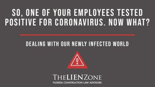 (post) So, one of your employees tested positive for Coronavirus.  Now what?