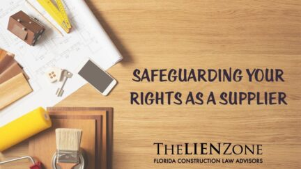 (post) Safeguarding Your Rights As a Supplier
