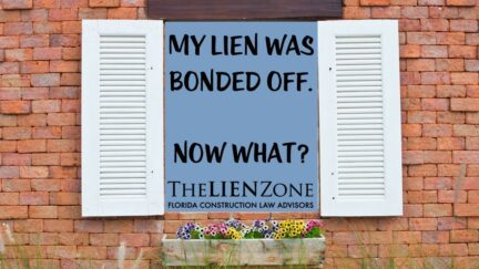 (post) My Lien Was Bonded Off. Now What?