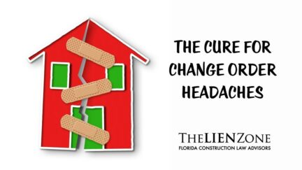 (post) The Cure for Change Order Headaches